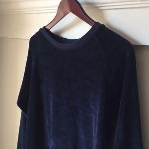 American vintage Isaac velour sweatshirt
